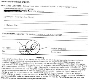 Injunction Pinal County